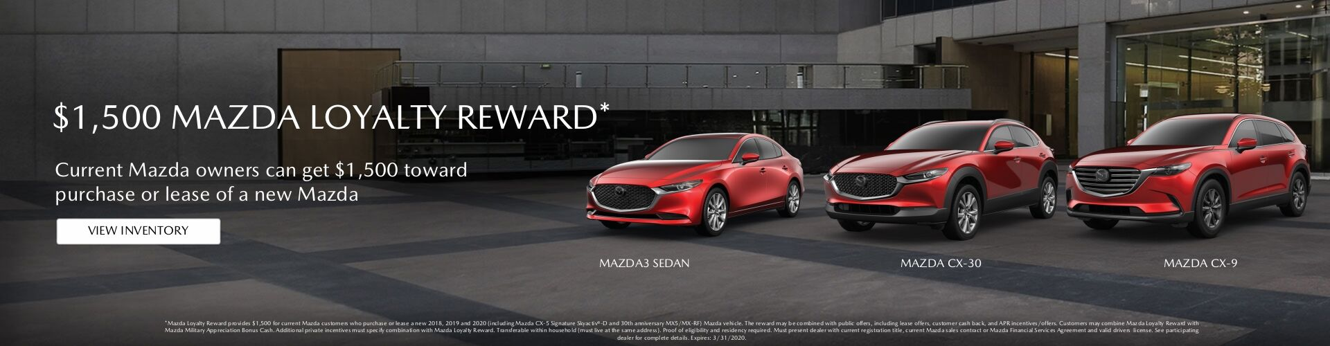 Mazda Loyalty Reward