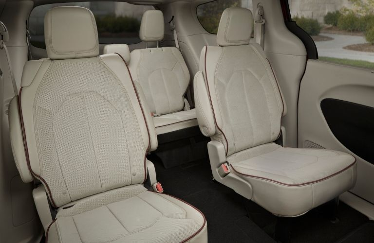 Rear seating in 2020 Chrysler Pacifica