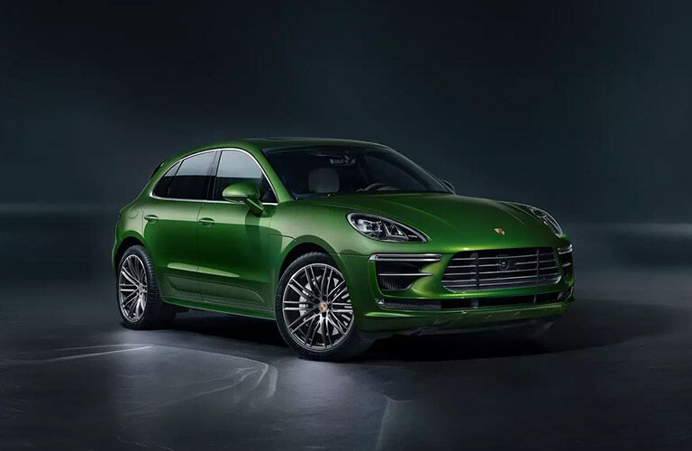 2020 Porsche Macan in green