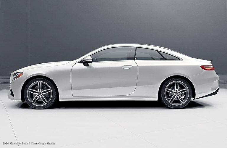 2021 MB E-Class Coupe Exterior driver side profile