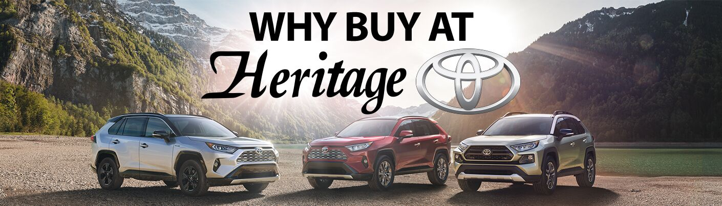 Why Buy at Heritage Toyota