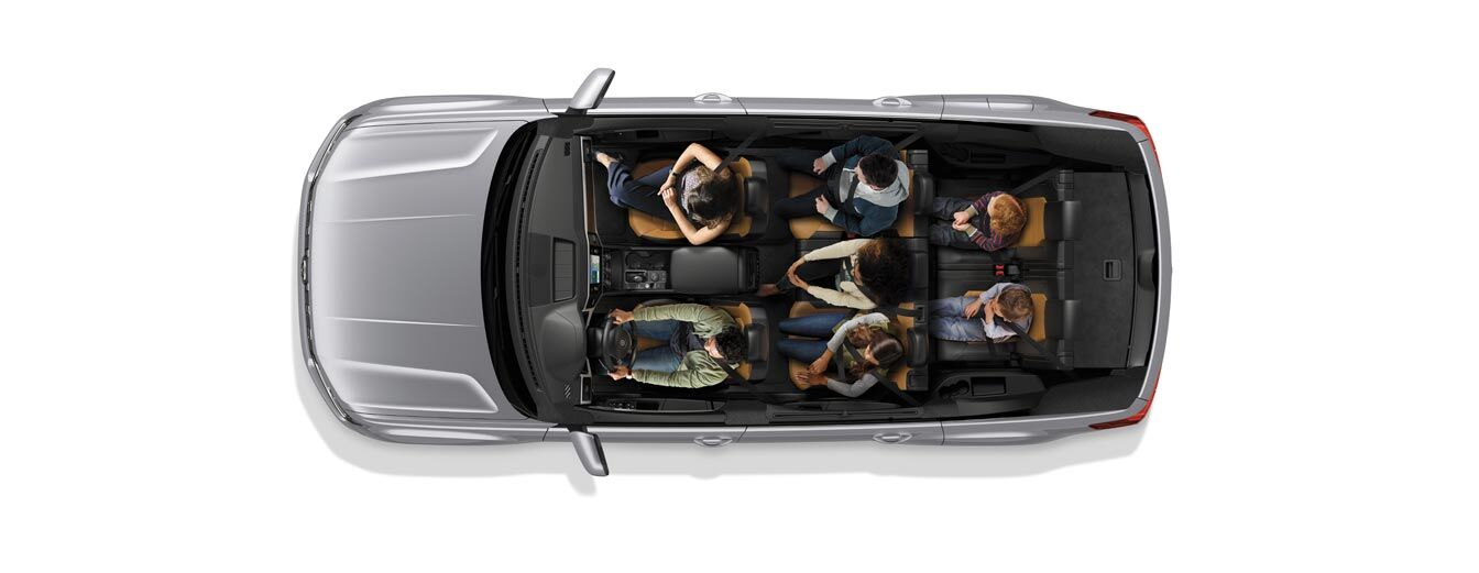 Volkswagen Atlas and its 96.8 cubic feet of cargo space