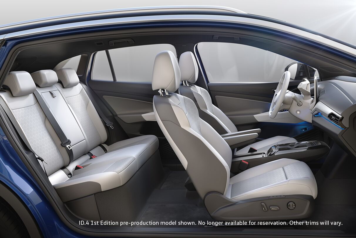 Interior of Volkswagen ID.4