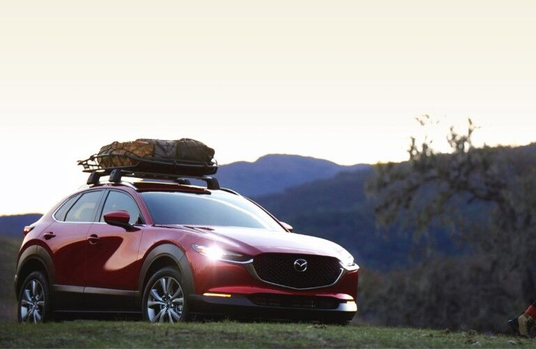 front view of the 2021 Mazda CX-30