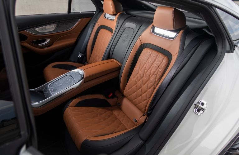 2021 MB AMG GT Coupe interior rear cabin seats