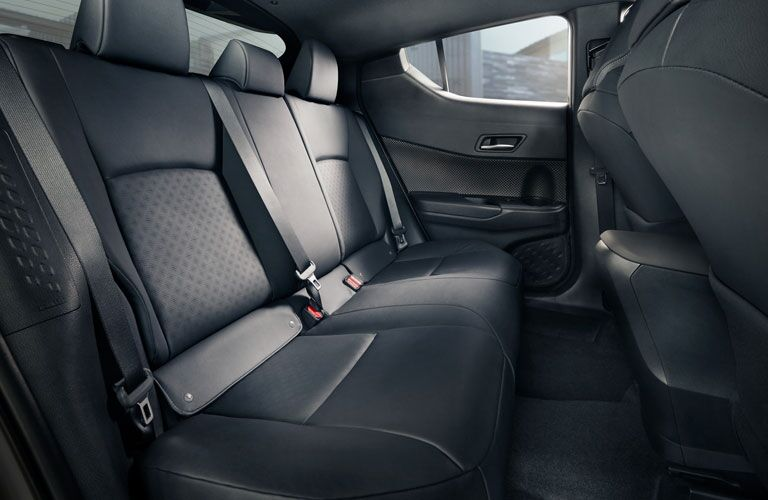 2020 Toyota C-HR rear seat view