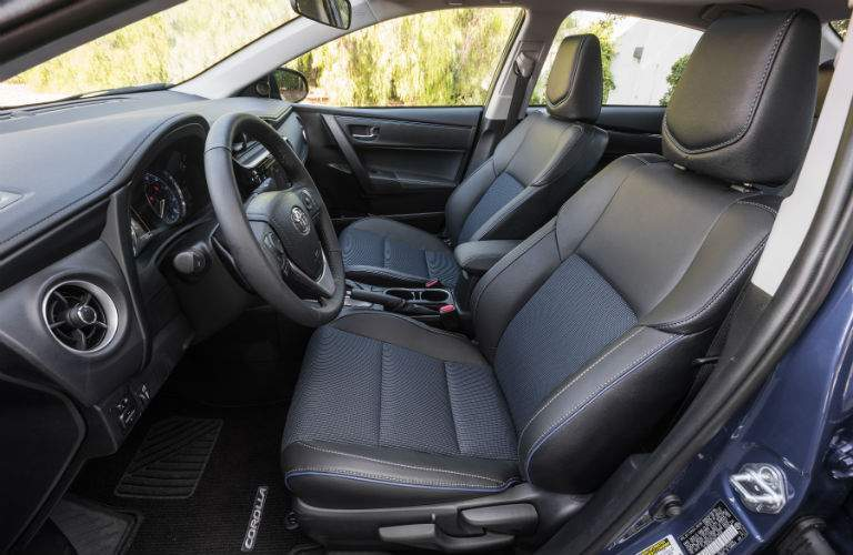Inside the 2018 Toyota Corolla
