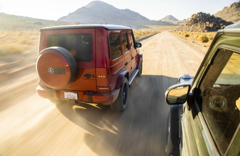 2019 Mercedes-Benz G-Class vs 2019 Land Rover Range Rover