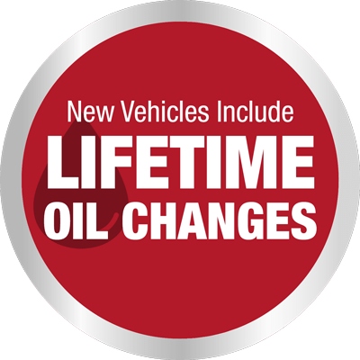 New Vehicles Include Lifetime Oil Changes