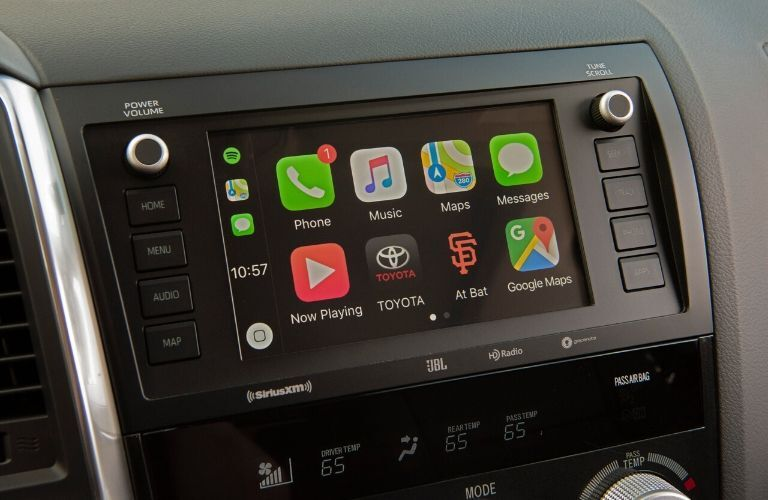 2021 Toyota Sequoia Apple CarPlay