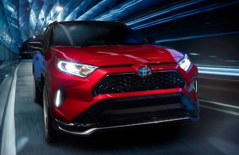 front view of the 2021 Toyota RAV4 Prime