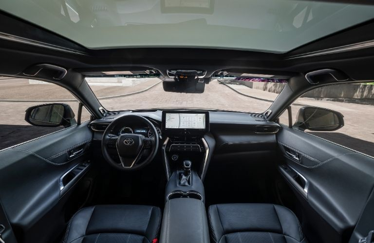 2021 Toyota Venza interior looking forward