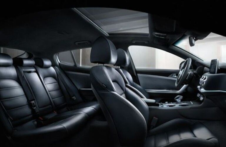 Interior seats of the 2021 Kia Stinger