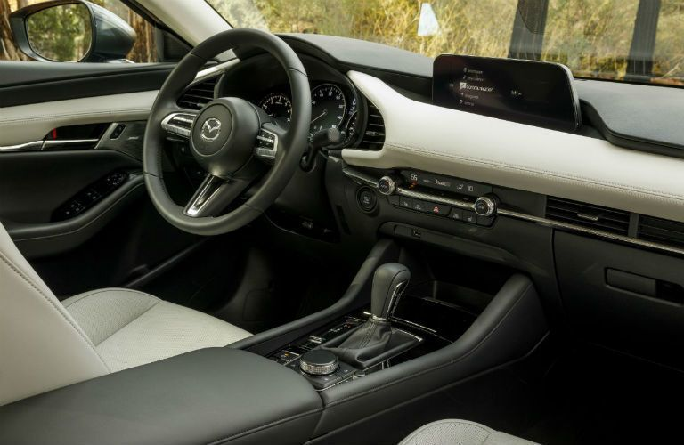 2020 Mazda3 interior front view