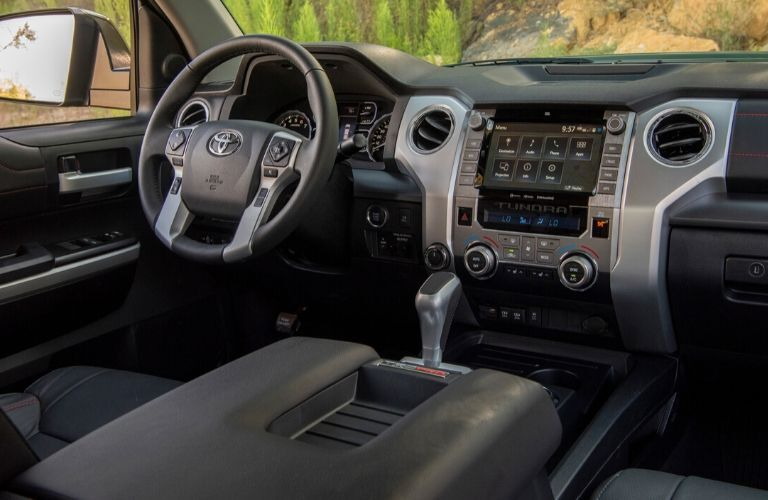 2020 Toyota Tundra interior front seating area