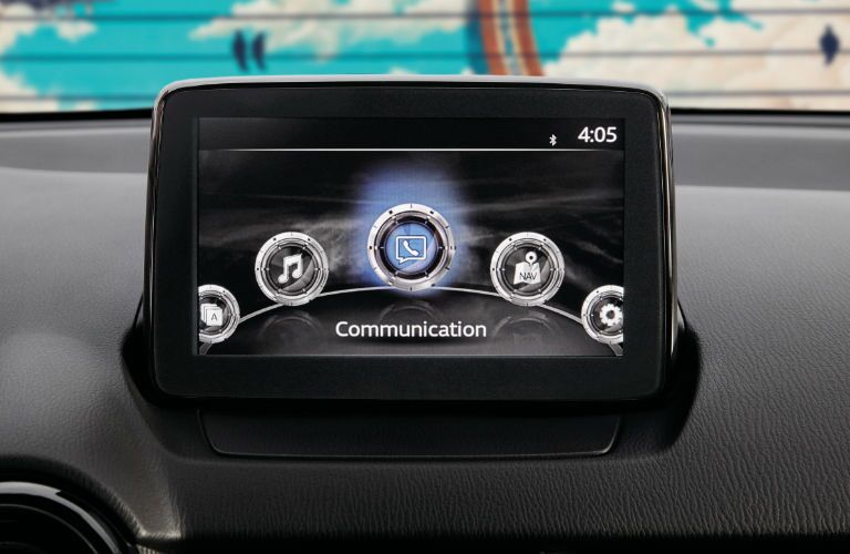 2020 Toyota Yaris touchscreen display