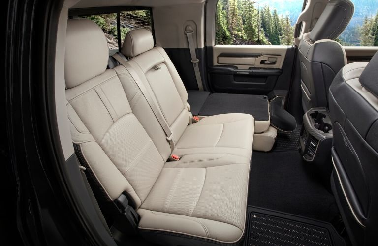 2020 Ram 2500 rear seating