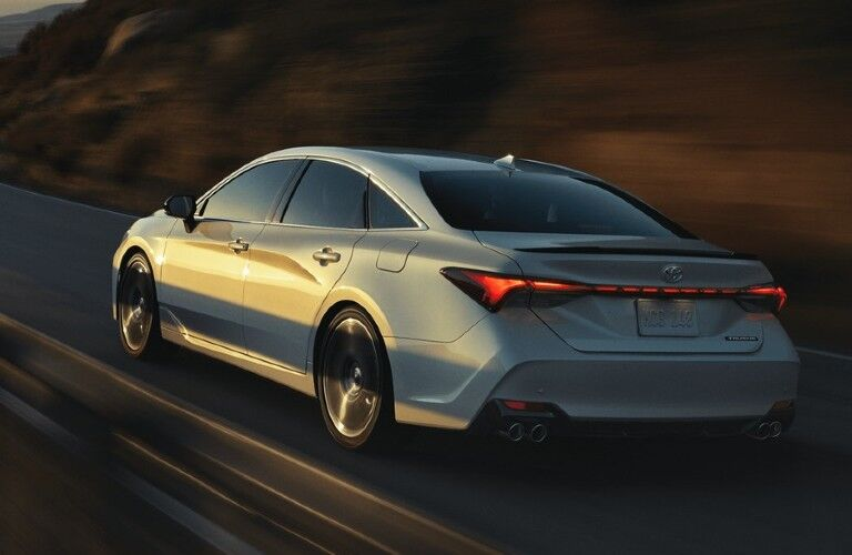 2021 Toyota Avalon driving down road