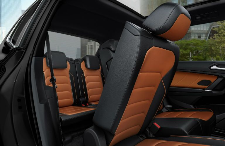 rear thrid-row seating in 2020 vw tiguan