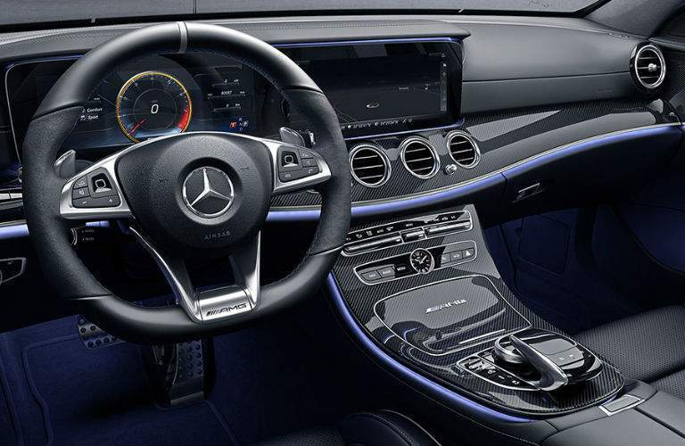 2018 Mercedes-Benz AMG E 63 Wagon steering wheel