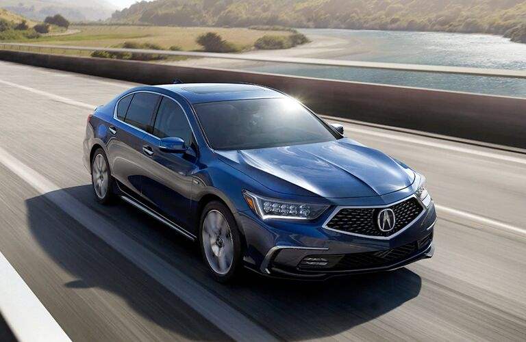2020 Acura RLX in blue