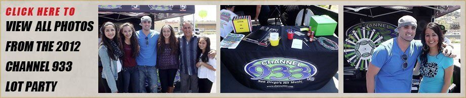 Party In The Parking Lot With Channel 933