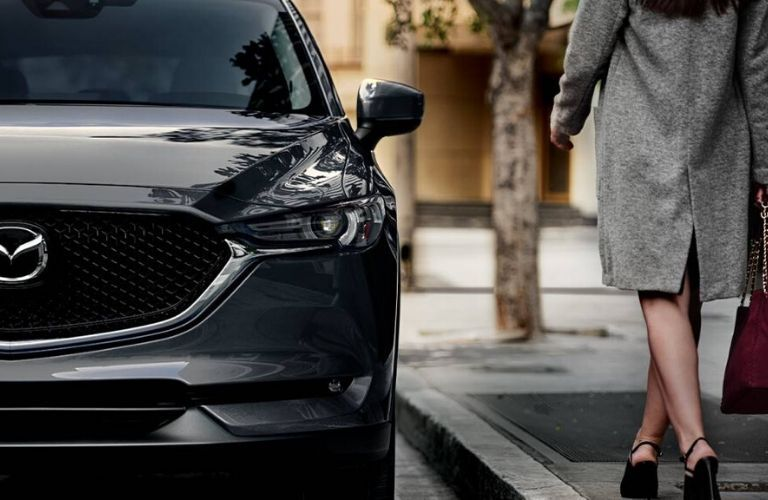 2020 Mazda CX-5 parked near a curb
