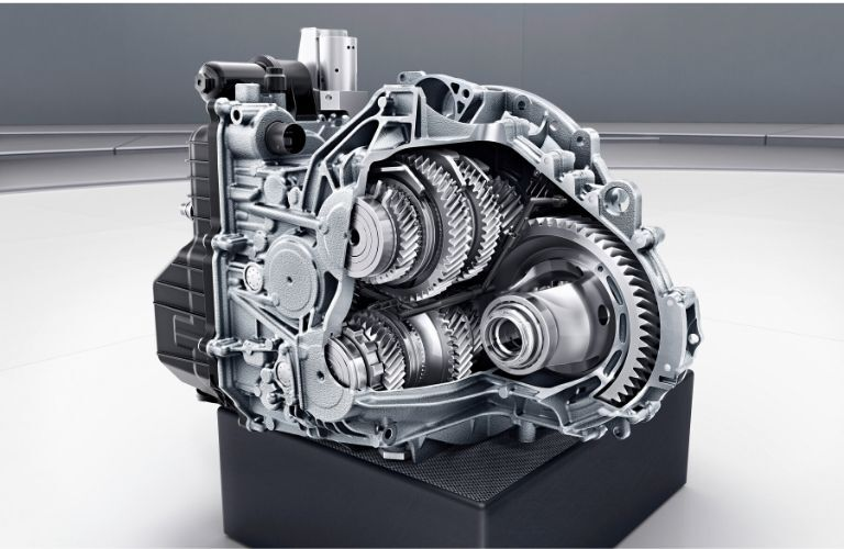 2021 MB GLA engine in white and gray room