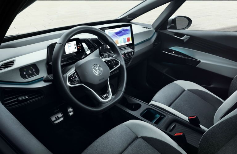 interior of vw id.3