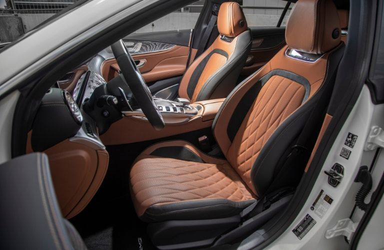 2021 MB AMG GT Coupe interior side view seats and steering wheel_o