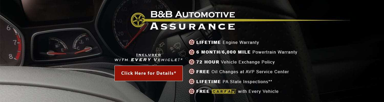 Used Vehicle Dealership Fairless Hills PA | B&B Automotive
