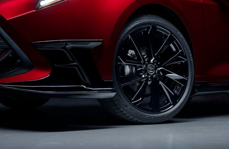 front wheel of 2021 Toyota Corolla Hatchback Special Edition