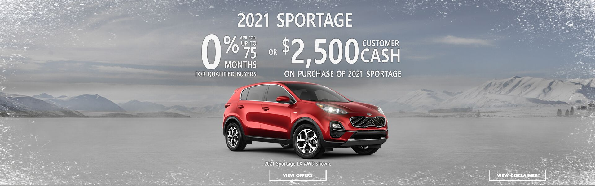 Kia Sportage January
