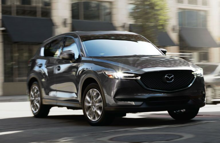 A head-on photo of the 2020 Mazda CX-5.