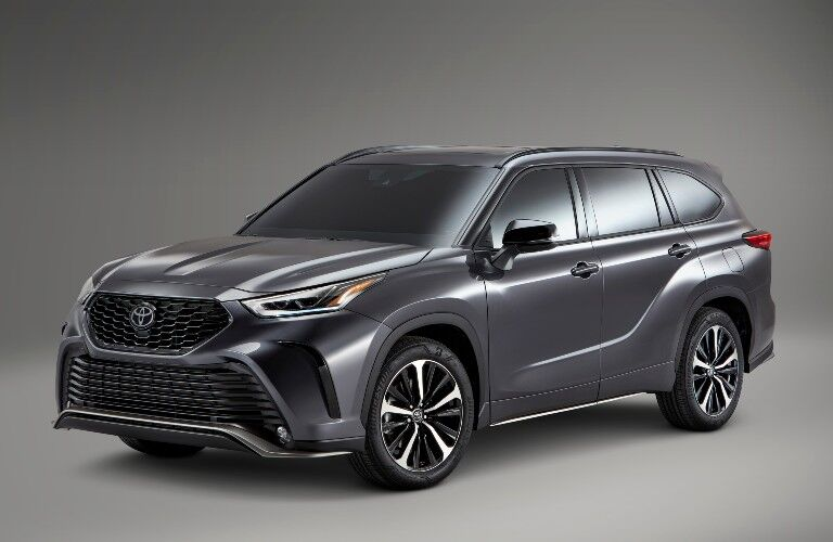 front of the 2021 Toyota Highlander