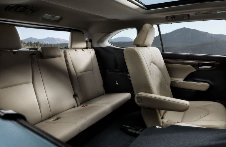 2021 Toyota Highlander seating