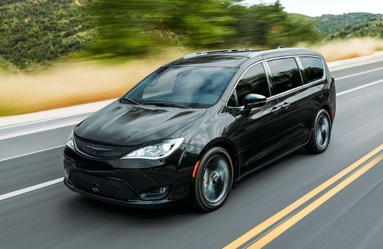 2020 Chrysler Pacifica driving on the highway