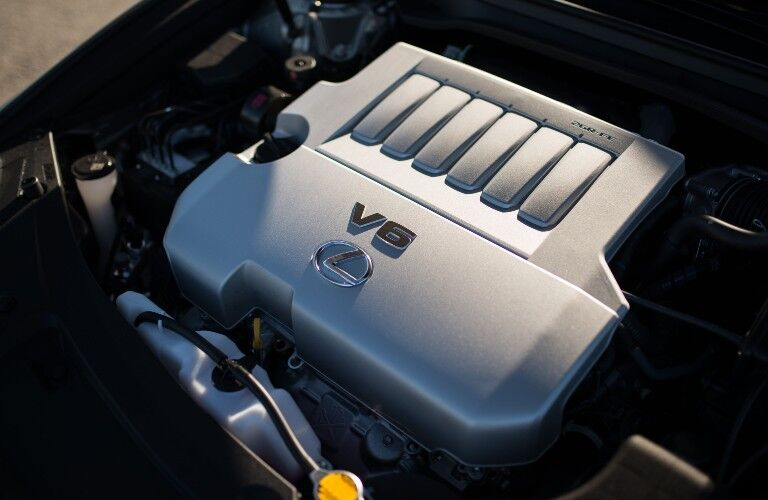 V6 engine in 2018 Lexus ES