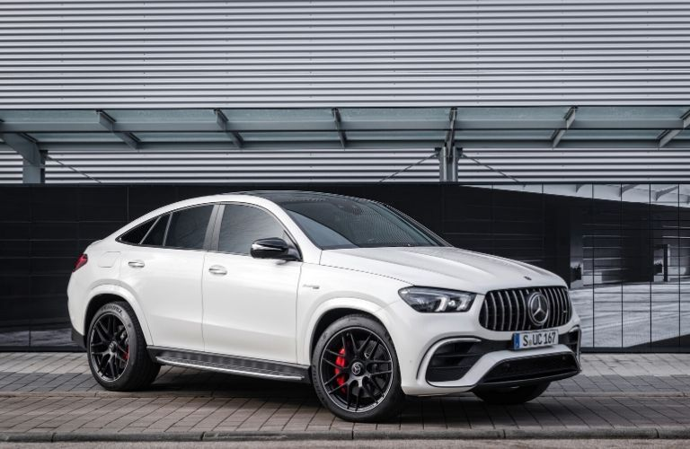 2021 MB GLE Coupe exterior front fascia passenger side