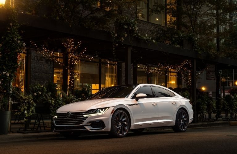 2020 VW Arteon parked