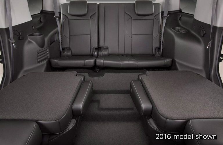 2017 Chevy Tahoe cargo space example