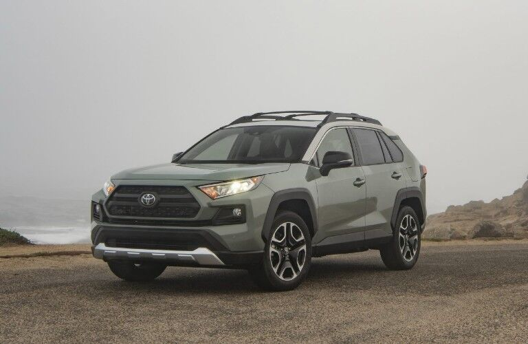 front view of the 2021 Toyota RAV4