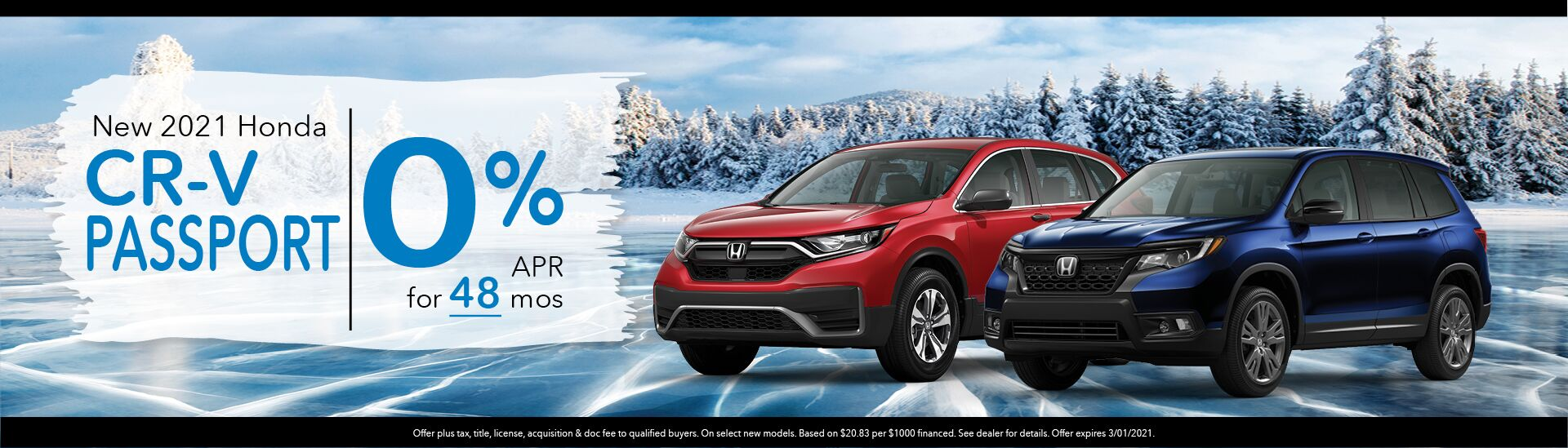 2021 Honda CRV Passport