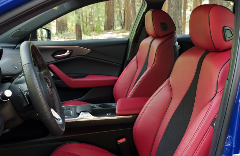 A photo of the front seats in the 2021 Acura TLX.