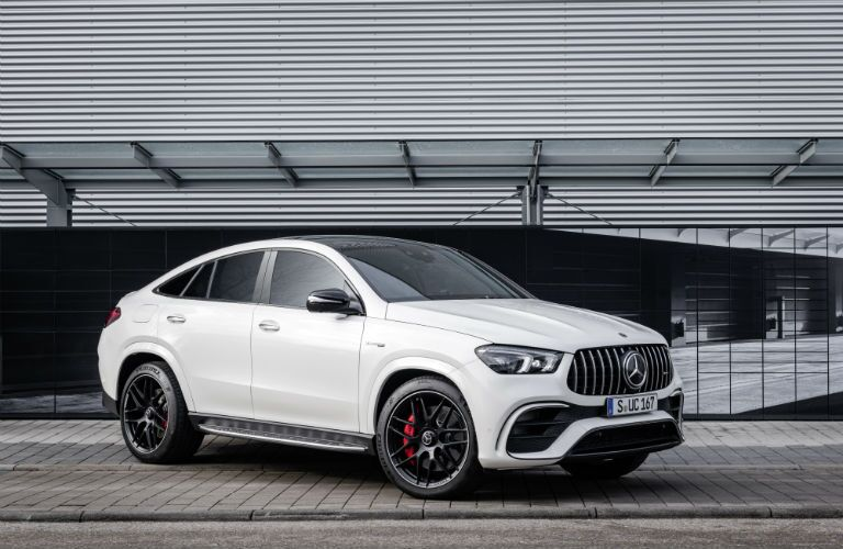 2021 MB AMG GLE 63 S Coupe exterior front fascia passenger side
