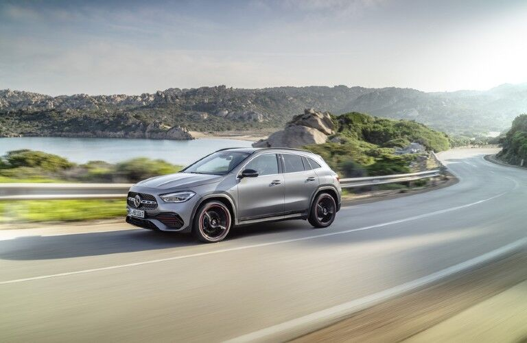 2021 Mercedes-Benz GLA on road