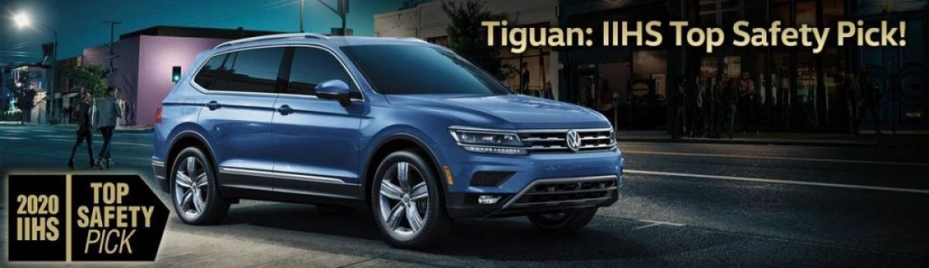 Tiguan Top Safety Pick