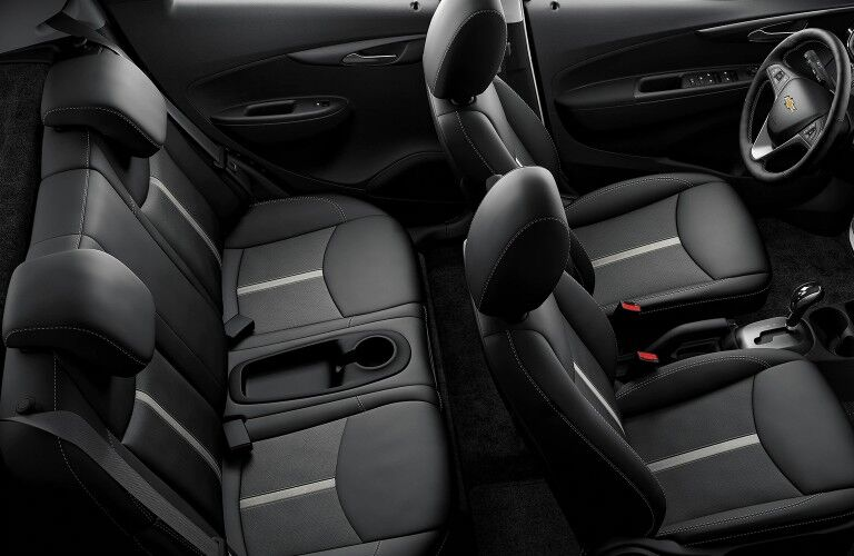 seating in the Chevrolet Spark