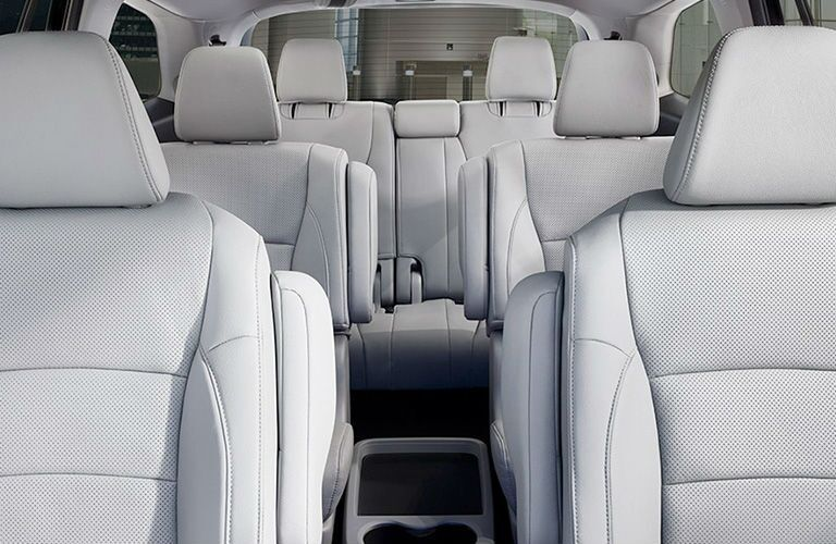 Three rows of seats in the 2020 Honda Pilot