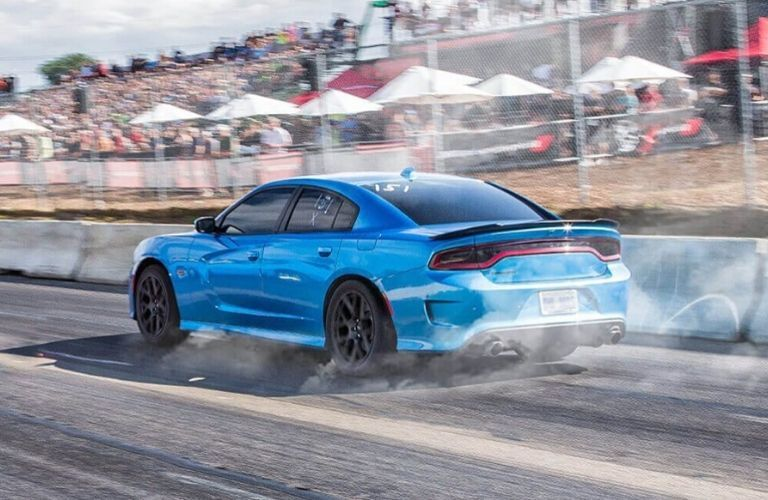 2020 Dodge Charger speeding away